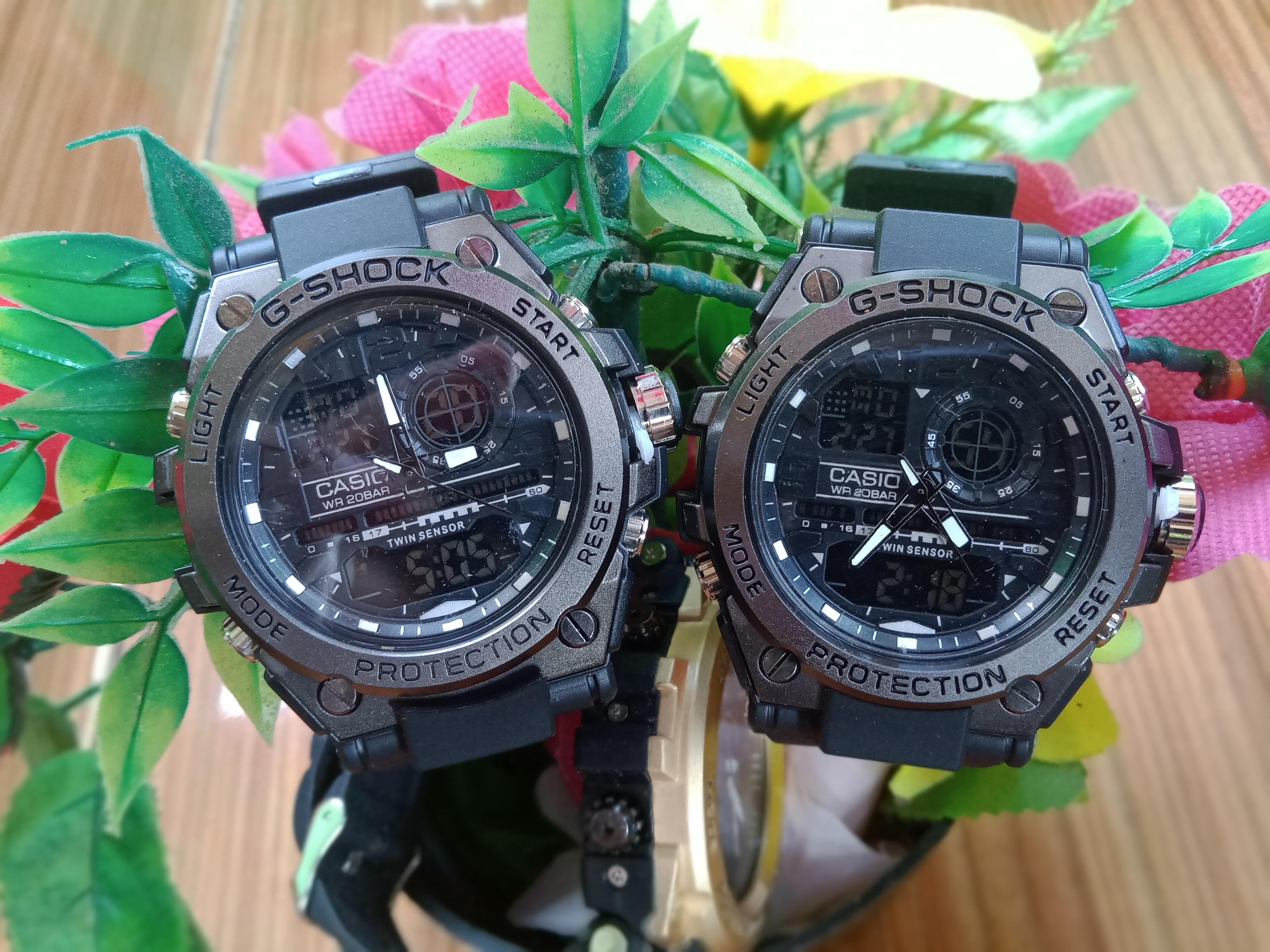 Jam Tangan G shock Dual time